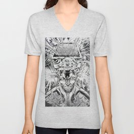 KID QUASAR AND THE ULTRA-MAGNETIC HI TOP FADE Unisex V-Neck