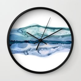 Fluid Dreams | Ink Painting Wall Clock