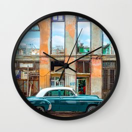 Colors of Havana Wall Clock