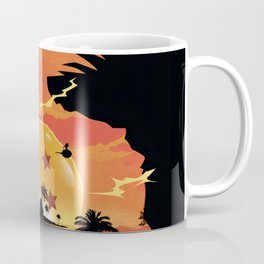 Goku Sunset Coffee Mug