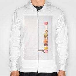 Paris, macarons and the eiffel tower Hoody
