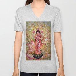 Lakshmi - Abundance Unisex V-Neck