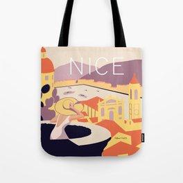 Nice – Sunset Version Tote Bag