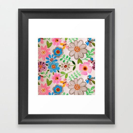 The Garden 2 Framed Art Print