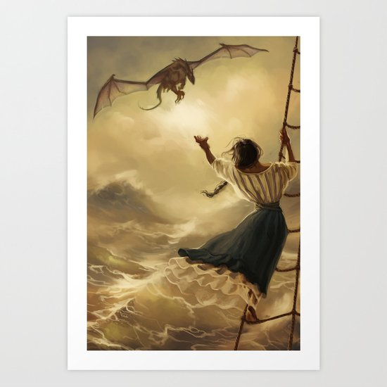 Bring him back to me Art Print