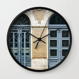 Blue Brothers Wall Clock