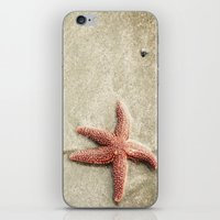 starfish iPhone & iPod Skins featuring Starfish by Kaelyn Ryan Photography