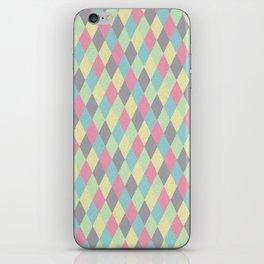 rhombus color 03 iPhone Skin
