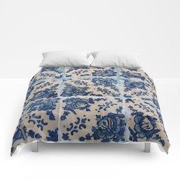 Portuguese Azulejo tiles Comforters