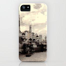 HMS Belfast iPhone Case