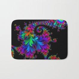 Rainbow Spiral Bath Mat