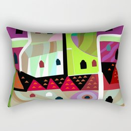 Hadrian's Malibu Castle Rectangular Pillow