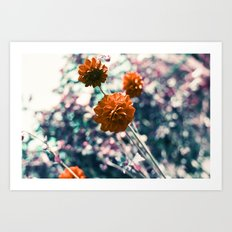 an angel's kiss in spring Art Print