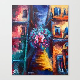 """Orchid"" Painting Canvas Print"