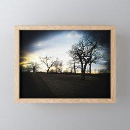 ENTRY WAY Framed Mini Art Print