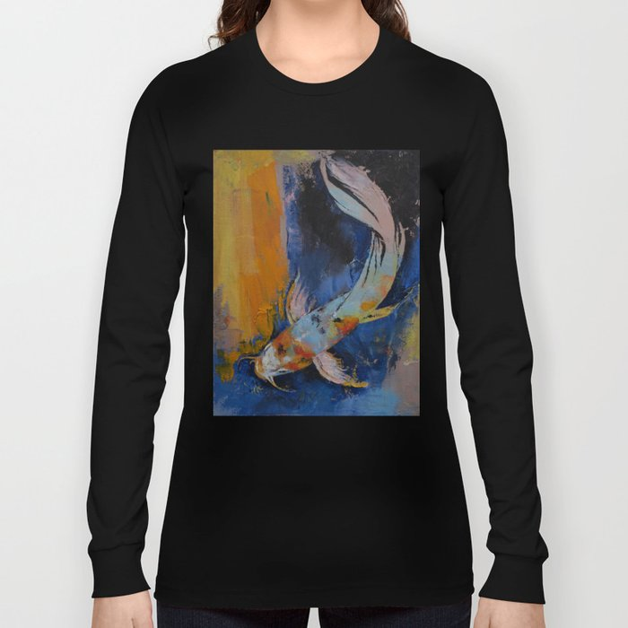 Sanshoku Koi Long Sleeve T-shirt