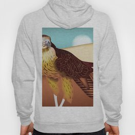 Hawk Illustration Hoody