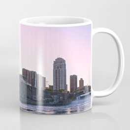 Minneapolis Minnesota Skyline Cinematic Panorama Coffee Mug