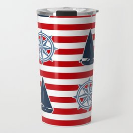Nautical design Travel Mug