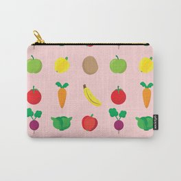 A Cute Concoction of Fruit and Vegetables. Vegan Heaven! Carry-All Pouch