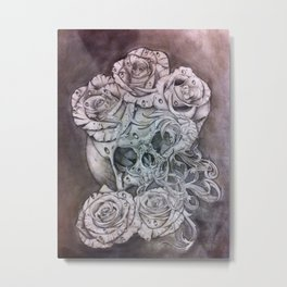 Modern Decay Metal Print