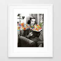 books Framed Art Prints featuring Books by Ben Giles