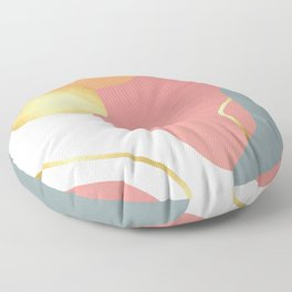 abstract colors Floor Pillow