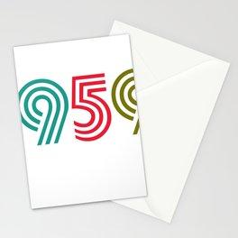 Vintage 1959 birthday birthday idea 60 years Stationery Cards