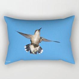 Flying Hummingbird Rectangular Pillow
