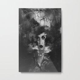 Arts Face 1 Metal Print