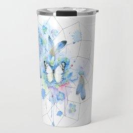 Dreamcatcher No. 1 - Butterfly Illustration Travel Mug