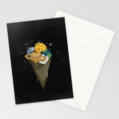 Galactic Ice Cream Stationery Cards