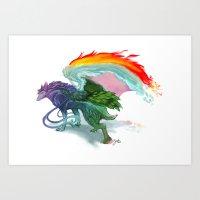 Pure Nighthound Art Print