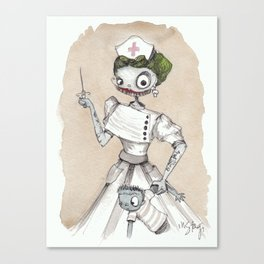 Nurse Witch Canvas Print