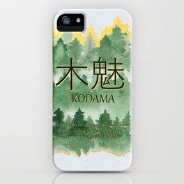 Forest Spirit iPhone Case