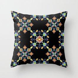 Ornamental Filigree Throw Pillow