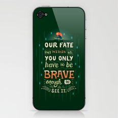 Would you change your fate? iPhone & iPod Skin