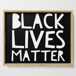 Black Lives Matter 3 Serving Tray