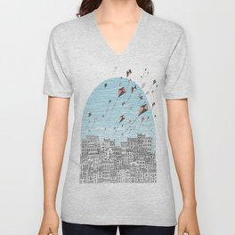 Kedesh City of Refuge Unisex V-Neck