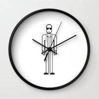 pitbull Wall Clocks featuring Pitbull by Band Land
