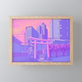 Roppongi Light Framed Mini Art Print