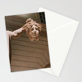 Medusa Sculpture Head Stationery Cards