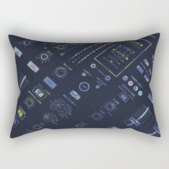 DJ Mixer Rectangular Pillow