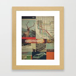 Optimism178 Framed Art Print