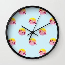 Summer dreams pattern Wall Clock