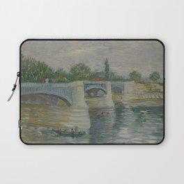 The Bridge at Courbevoie Laptop Sleeve