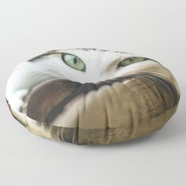 Cat by Nicolas Picard Floor Pillow