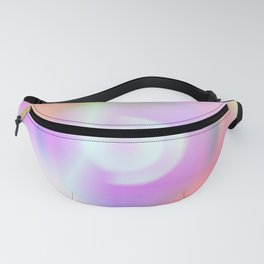 1 It is a colorful beautiful gradation. A gradation that is intricately intertwined. Fanny Pack