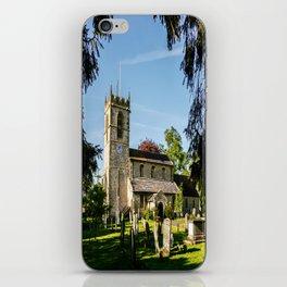 St Michael, Cropthorne iPhone Skin