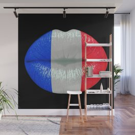 French smooch Wall Mural